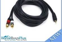 10ft-premium-3-5mm-stereo-male-to-2rca-male-22awg-cable-5599